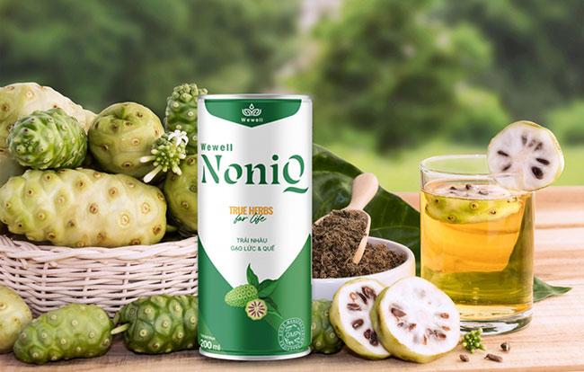 Nước uống thảo dược wewell noniq tốt cho sức khỏe an toàn cho người dùng