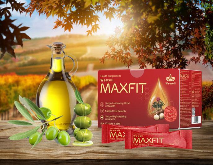 Thực Phẩm Bảo Vệ Sức Khỏe Wewell Maxfit Hỗ Trợ Hoạt Huyết, Bổ Huyết, Lợi Gan